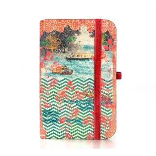 India Circus Chevron Backwaters Pocket Diary