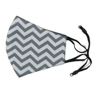 India Circus Chevron Melavo Comfortable Outdoor Face Mask