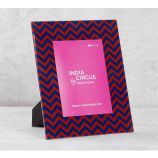 India Circus Chevron Melavo Photo Frame