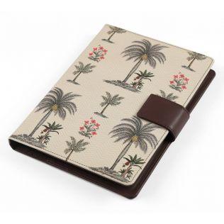 India Circus Chevron Palms Notebook Planner