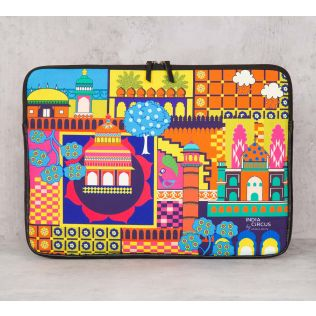 India Circus City Resonance Laptop Sleeve