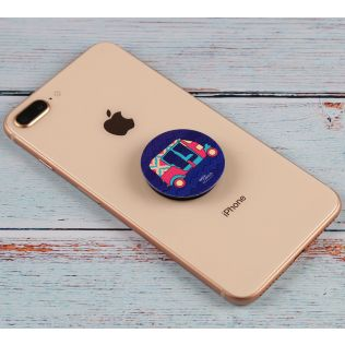 India Circus City Rickshaw Popsocket