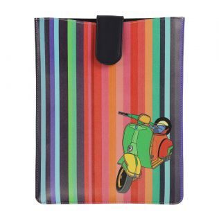India Circus Colour Pop Scooter iPad Sleeve