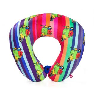 India Circus Colour Pop Scooter Neck Pillow