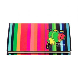 India Circus Colour Pop Scooter Visiting Card Holder