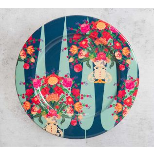 India Circus Conifer Affair Decor Plate