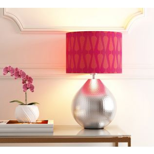 India Circus Conifer Spades Cylindrical Lamp Shade