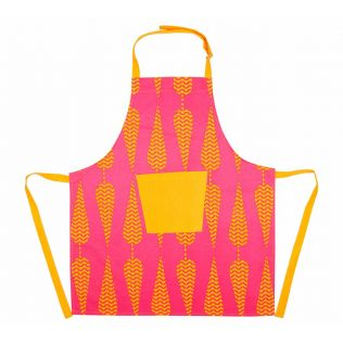 India Circus Conifer Spades Kitchen Apron