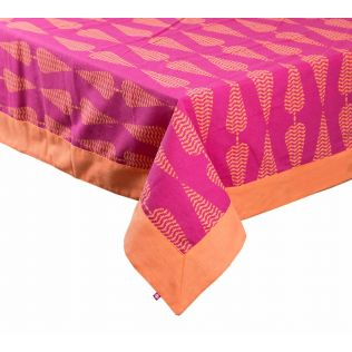 India Circus Conifer Spades Table Cloth