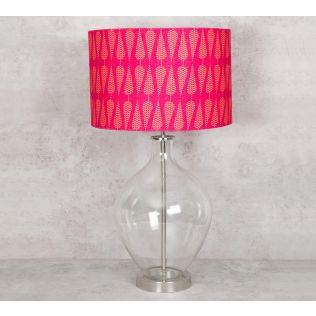 India Circus Conifer Spades Table Lamp