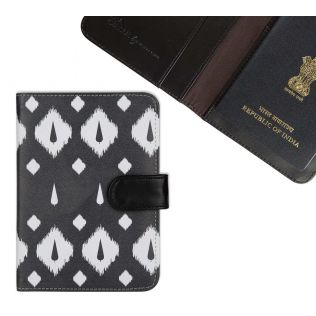 India Circus Conifer Symmetry Passport Cover