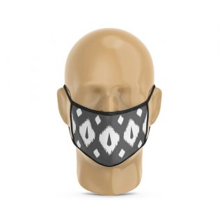 India Circus Conifer Symmetry Protective Face Mask