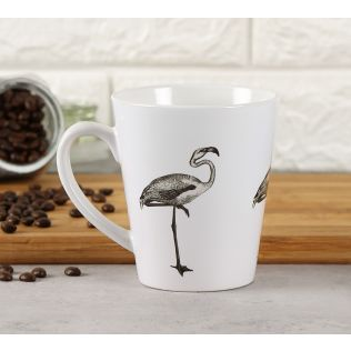 India Circus Crane Corso Coffee Mug
