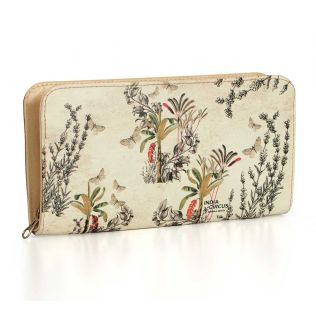 India Circus Desert Plants Ladies Zipper Wallet