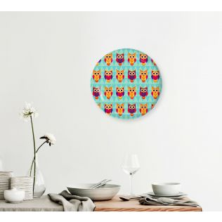 India Circus Disco Hedwig Decor Plate