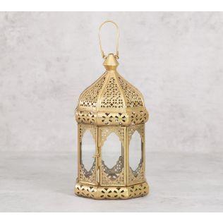 India Circus Dome Iron Candle Lantern