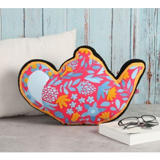 India Circus Fall Foliage Shaped Cushion