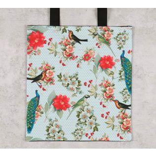 India Circus Feathered Garden Jhola Bag