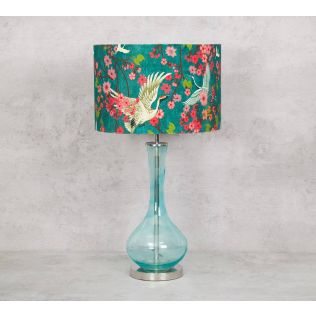 India Circus Flight of Cranes Table Lamp