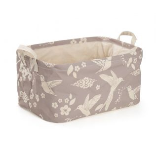 India Circus Flock of Birds Rectangle Laundry Basket