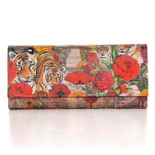 India Circus Floral Burst Ladies Wallet