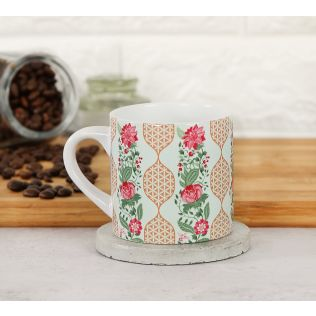 India Circus Floral DNA Espresso Mug