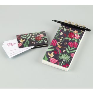 India Circus Floral Galore Stationery Combo Set
