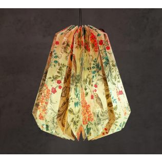 India Circus Floral Hooting Paper Lantern