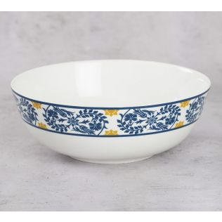 India Circus Floral Hypnosis Serving Bowl