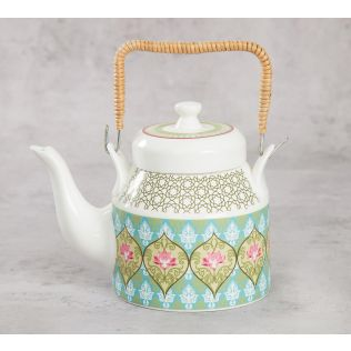 India Circus Floral Illusion Kettle