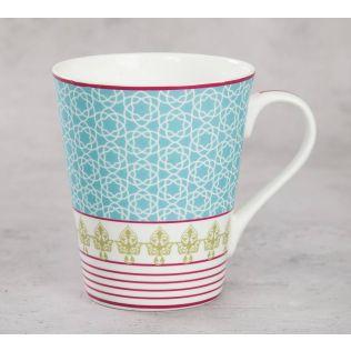 India Circus Floral Illusion Zing Mug (Set of 2)