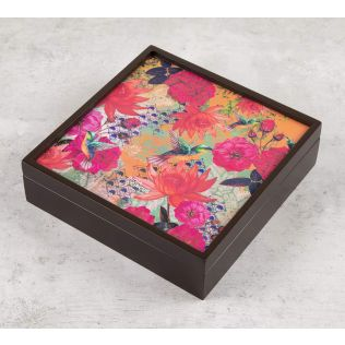 India Circus Floral Kingdom Storage Box