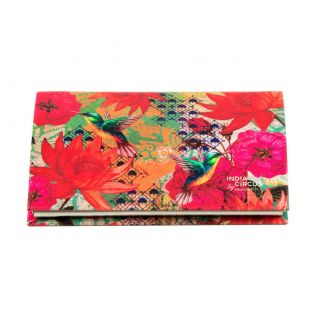 India Circus Floral Kingdom Visiting Card Holder