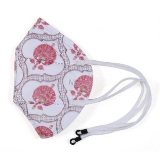 India Circus Floral Lattice N95 Face Mask