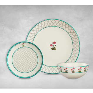 India Circus Floral Twinkles Dinner Sets of 6