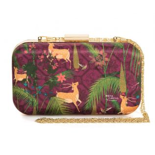 India Circus Forest Fetish Clutch
