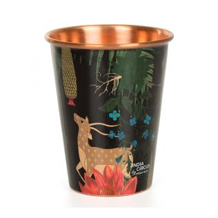 India Circus Forest Fetish Copper Tumbler