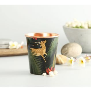 India Circus Forest Fetish Small Copper Tumbler
