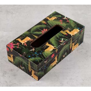 India Circus Forest Fetish Tissue Box Holder