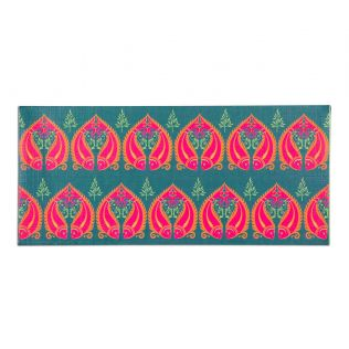 India Circus Fuchsia Fish Romance Gift Envelope Set of 6