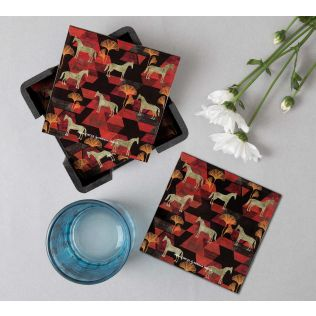 India Circus Gallant Gypsy Table Coaster