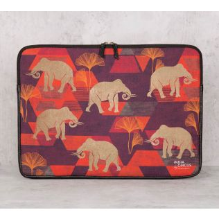 India Circus Gallant Tusker Laptop Sleeve
