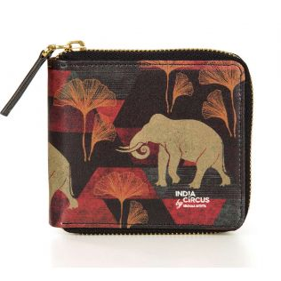 India Circus Gallant Tusker Zipper Wallet