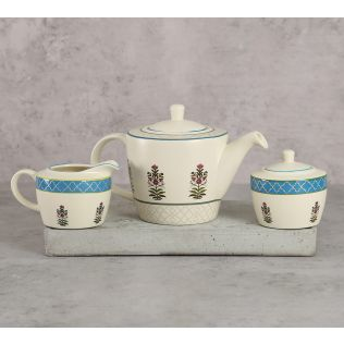 India Circus Garden of Eva Tea Set