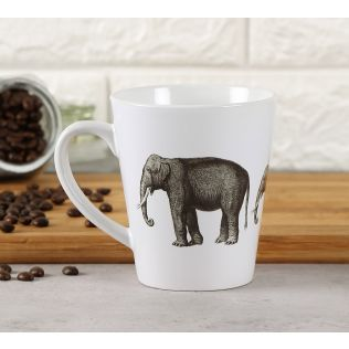 India Circus Gentle Mastodon Coffee Mug