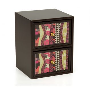 India Circus Geometrical Straps Chest of Drawer