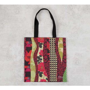 India Circus Geometrical Straps Jhola Bag