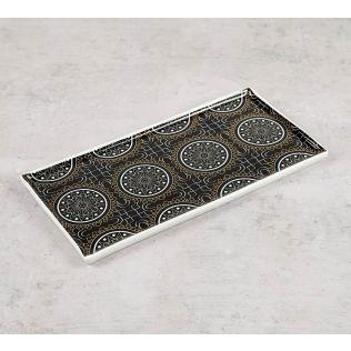 India Circus Geometrical Tara Serving Platter