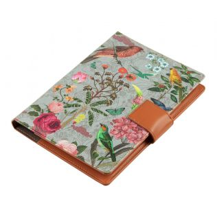 India Circus Grey Bird Land Notebook Planner