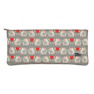 India Circus Heart Tusker Small Utility Pouch